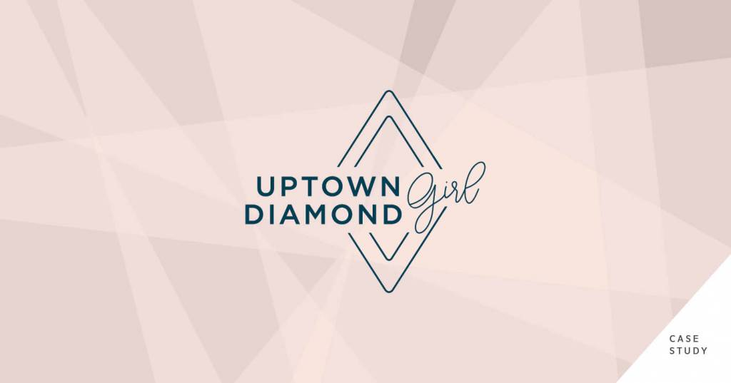 Uptown Diamond Girl Branding