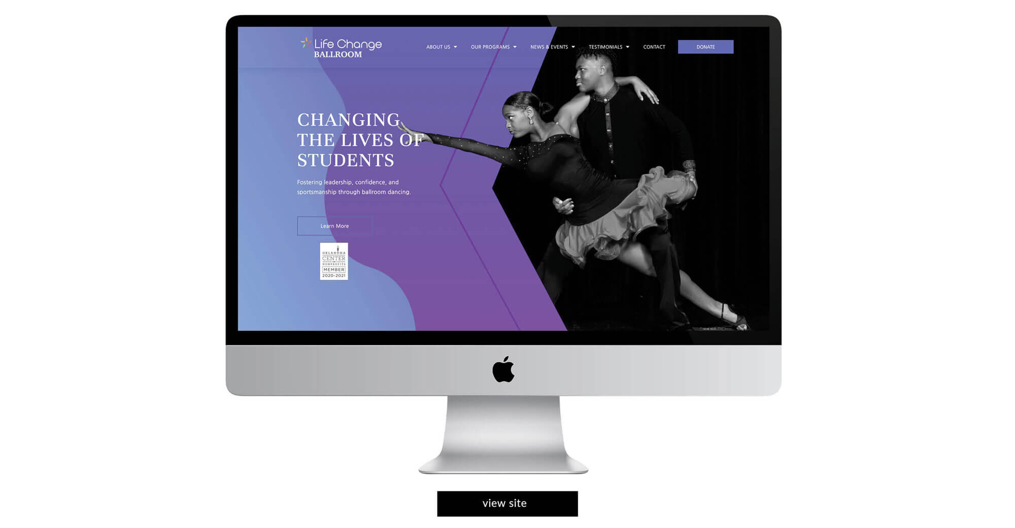 Life Change Ballroom Website