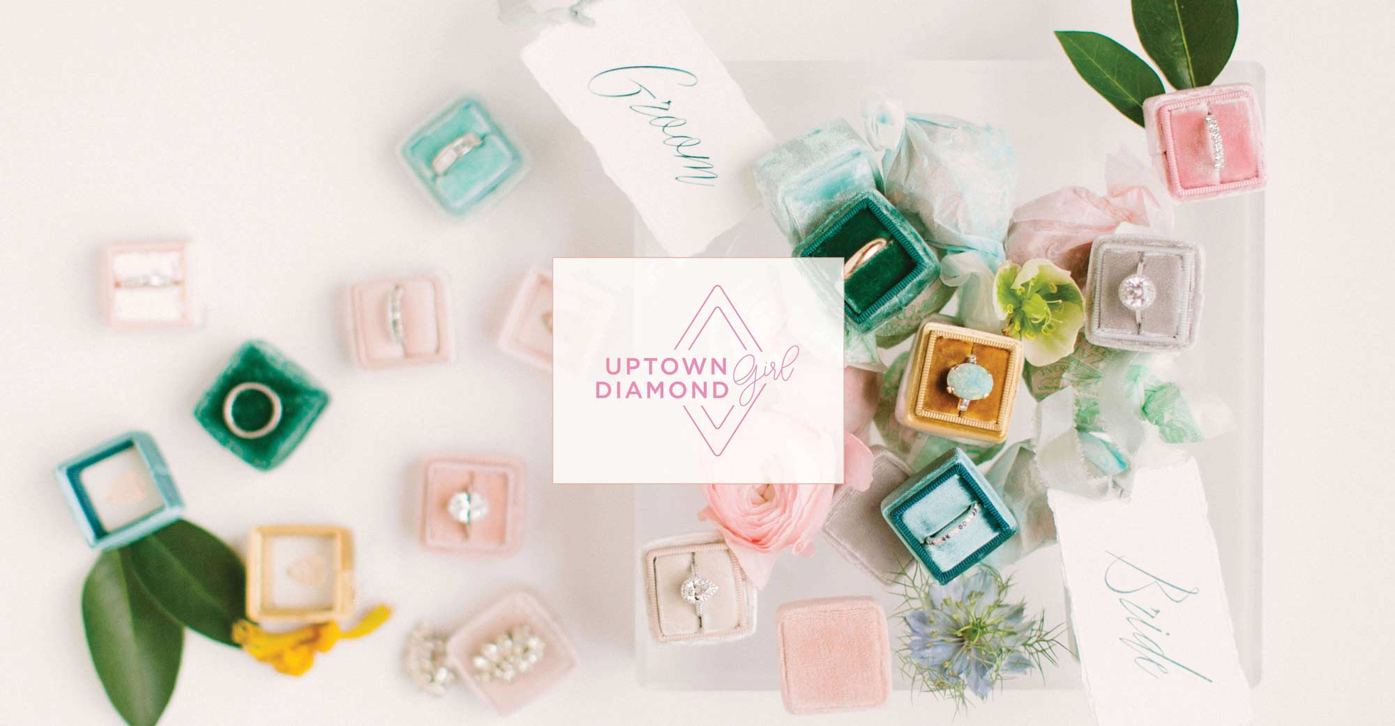 Uptown Diamond Girl - Houston Wedding Engagement Ring Designer