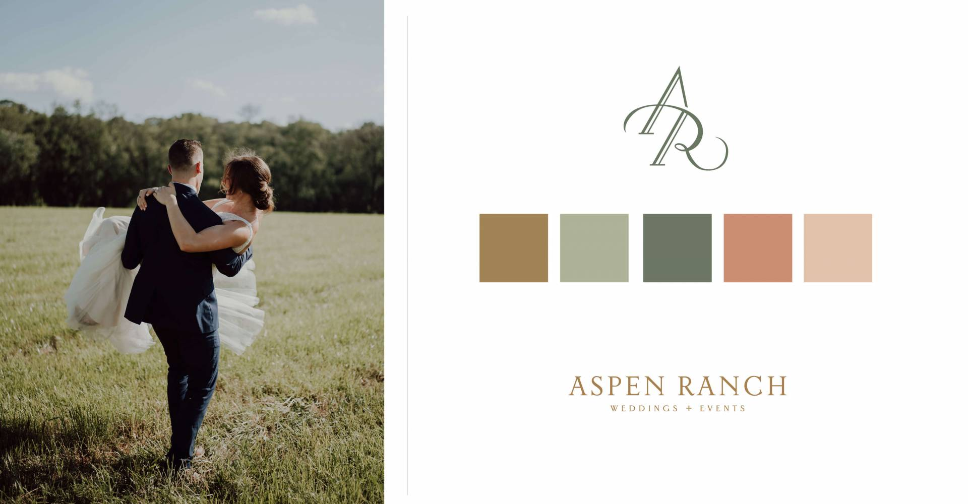 Aspen Ranch Weddings + Events Wedding Vendor Branding
