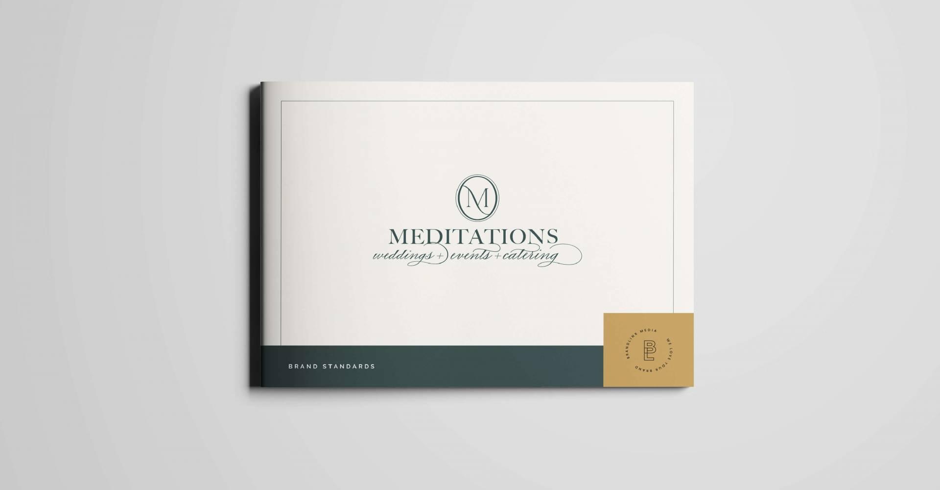 Brandlink Media_Portfolio_Meditations Wedding Event Center Brand Guide