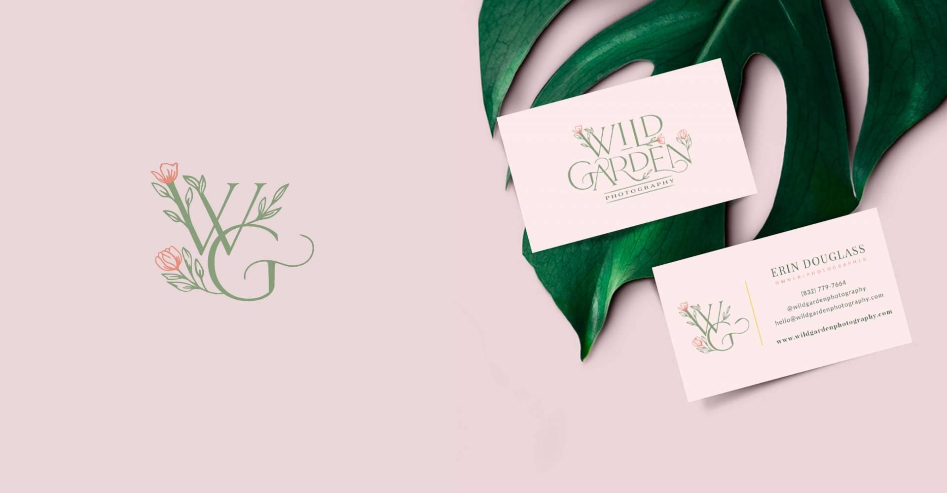 Brandlink Media_Portfolio_Wild Garden Photography Business Card Design